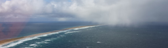 Sable Island from the air